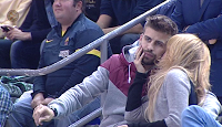 Shakira et Gerard à un match de basket – Photos