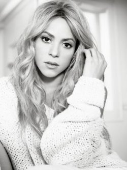 Photoshoot promotionnel pour l'album « Shakira. »
