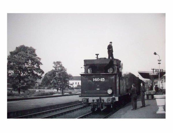 LEUZE - Photo faite en 1961