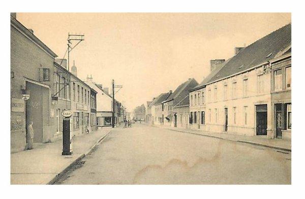 LEUZE - La rue de Condé