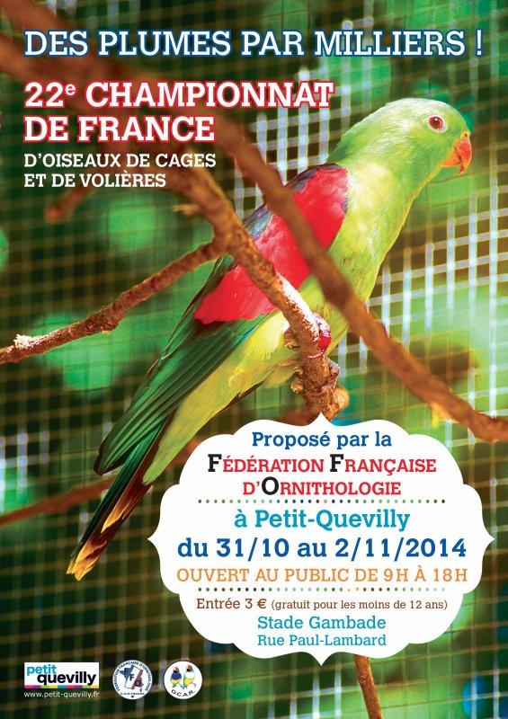 Championnat de France FFO 2014.