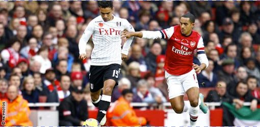 Arsenal 3-3 fulham le: 10/11/2012