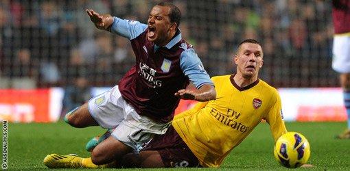 aston villa 0-0 Arsenal le: 24/11/2012