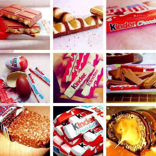 Les kinders, les meilleurs chocolats