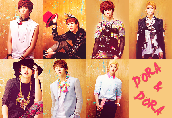 "U-KISS 6th Mini ""DORADORA(돌아돌아)"""