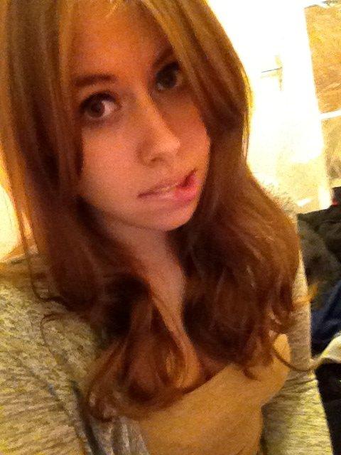 Je suis brune maintenant.