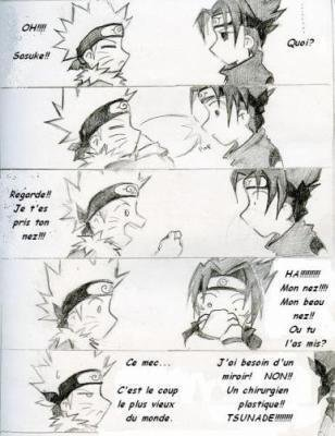 Sasuke s'aime trop