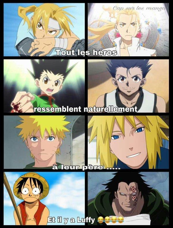 Tous les héros ressemble à leur père