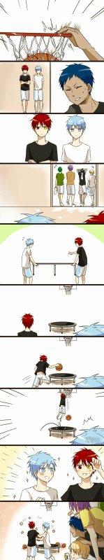 Le secret de akashi et kuroko
