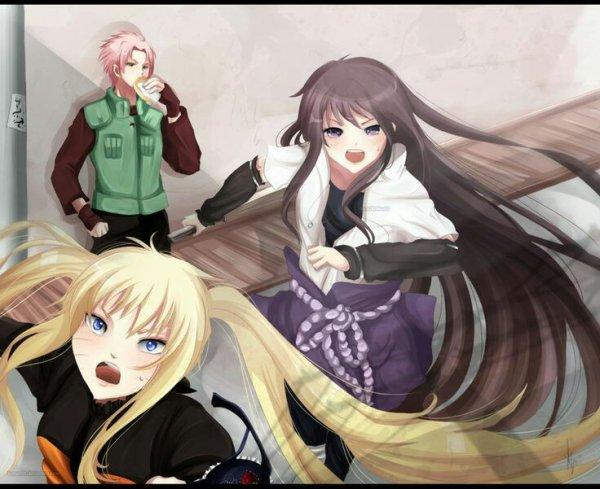 Naruto sasuke en fille et sakura en mec