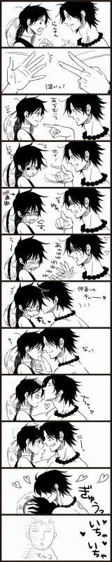 Luffy pleure