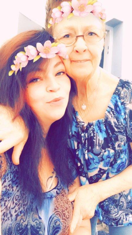 Ma petite mamie et moi