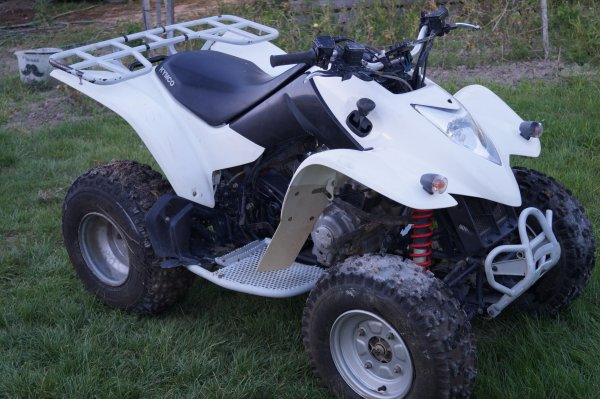 quad kymco 250 kxr a vendre