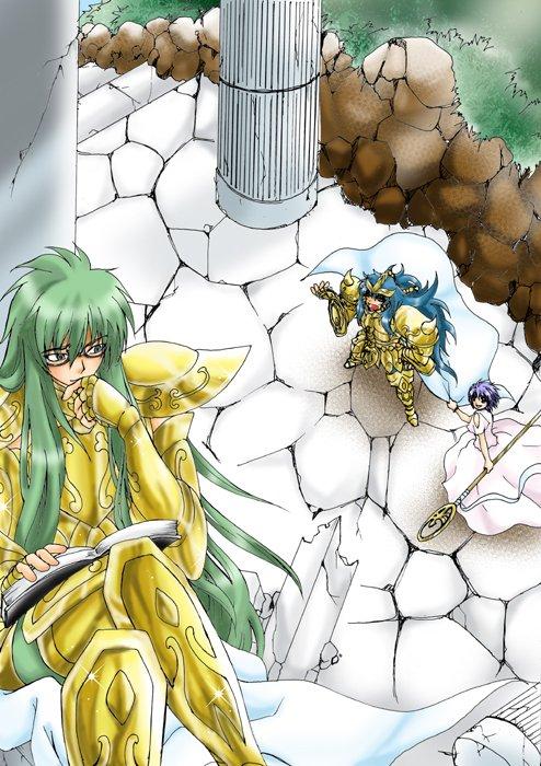 Sasha-sama et ses Chevaliers
