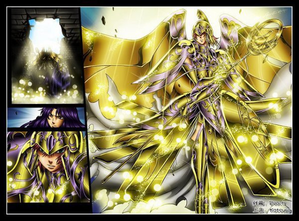 Saint Seiya The Lost Canvas : Sasha