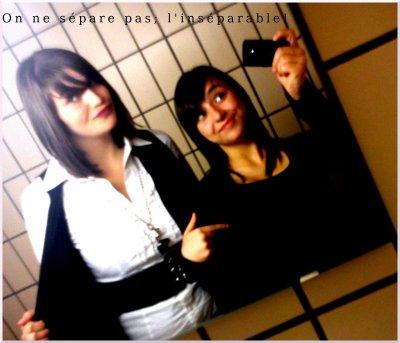 Plus qu'une amie, une soeur de coeur!  ♥         sans doute la seule sur qui je puisses encore conté!