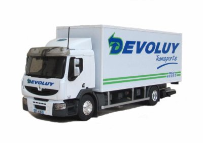 Premium Distribution DXi fourgon DEVOLUY