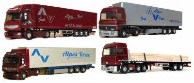 Premium 450DXi Tautliner Alpes Vrac
