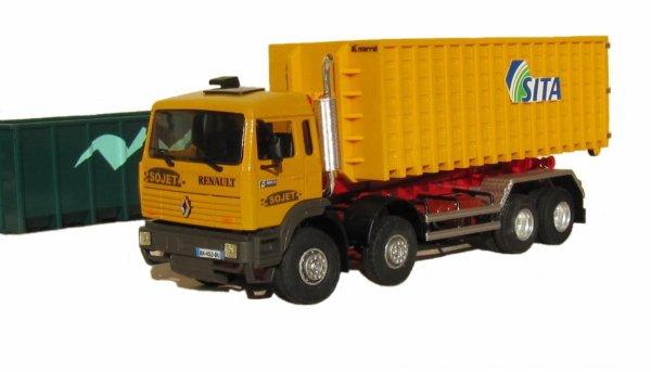 Maxter G 340ti 8x4 benne déposable