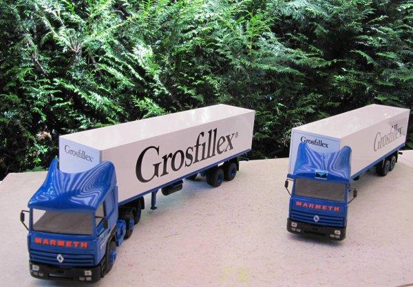 R 385ti 6x2 MARMETH semi fourgon 2 essieux Groffillex