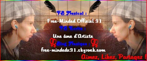 Bannière FB Musicale + Lien Blog Musique