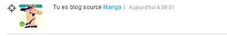 Blog source manga <<