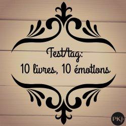 Tag 10 livres/ 10 émotions