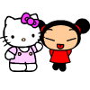Pucca / Hello Kitty