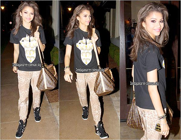 20.05.13. Zendaya était au Groove, à Los Angeles.