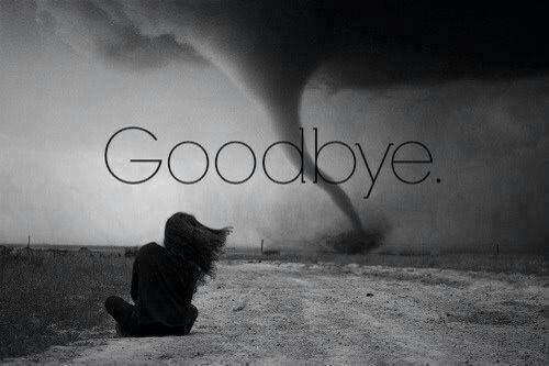 On passe notre vie a dire adieu a se qui partent, jusqu'au jour ou on dit adieu a se qui reste