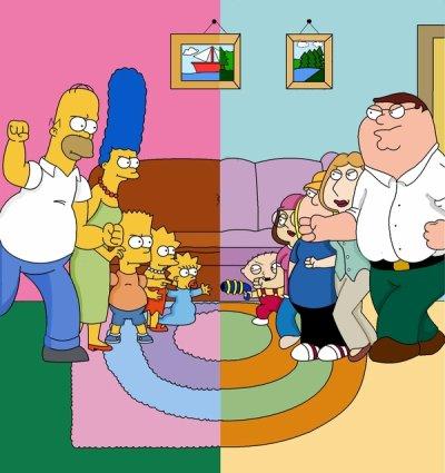 Simpson & Family Guy - Pas de chiffres Icii !