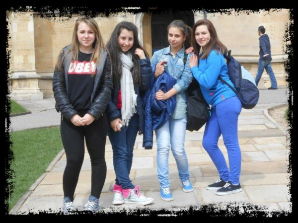 Voyage en Angleterre avec les copines!<33