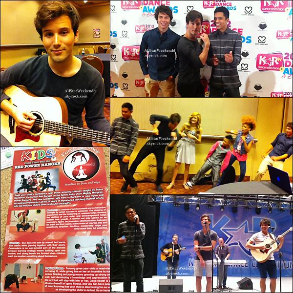 Hier, Cameron , Zach & Michael ont participé à un concert de charité, voici quelques photos qu'ils ont posté sur leurs page facebook.