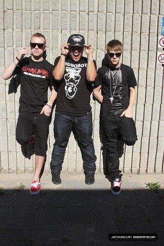 Justin et ses potes