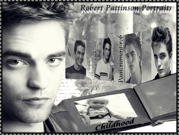 """ Robert Pattinson "" un peu de lui.."