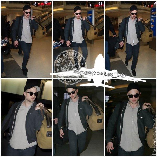 Rob départ de LA hier! / Nouvelles Photos de Robert Pattinson & Vidéo pour Bel Ami
