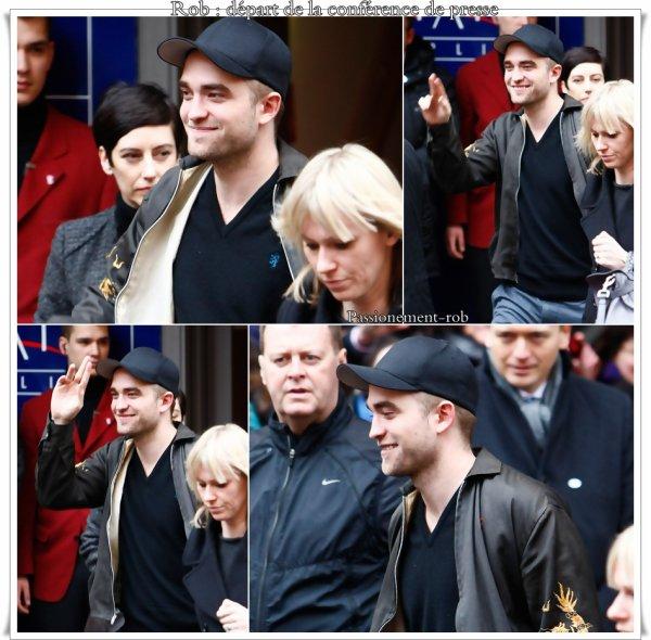 """Photos de """" Rob """" lors de l' Avant premiére Berlinoise du 17 février !"""