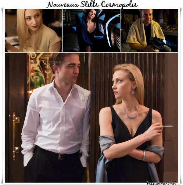 News stills of Cosmopolis + Interview D.cronenberg & Vidéo