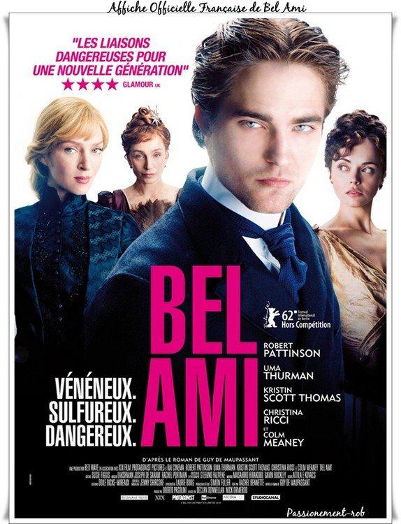 """"""" Robert Pattinson """" Posters Offiels des futurs """" Cosmopolis et Bel Ami """""""