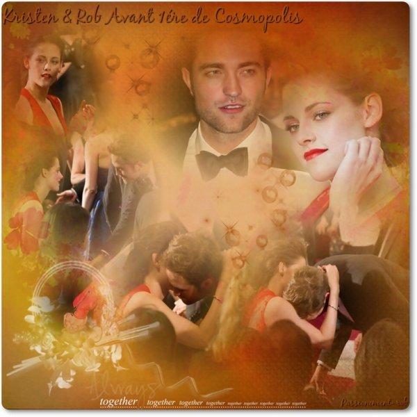 """Cannes  : Surprise ! Rob sur le tapis Rouge hier pour Kris & """" OTR """" ..."""