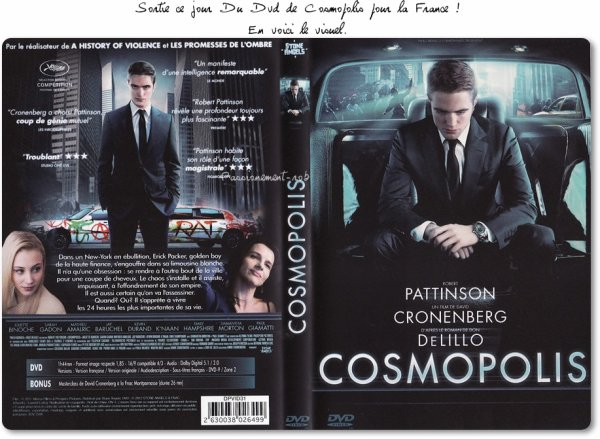 Actu Rob septembre 2012: Sortie DVD Cosmopolis - LA Dance Project - Queen of The Desert - MTV VMA - Stand Up 2 Cancer