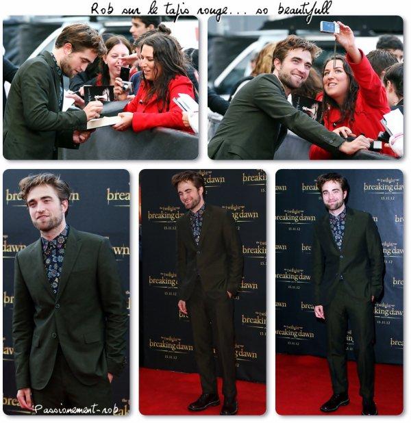 Robert Pattinson le 22/10 à Sydney-Promo BD partie 2 +Diverses News..