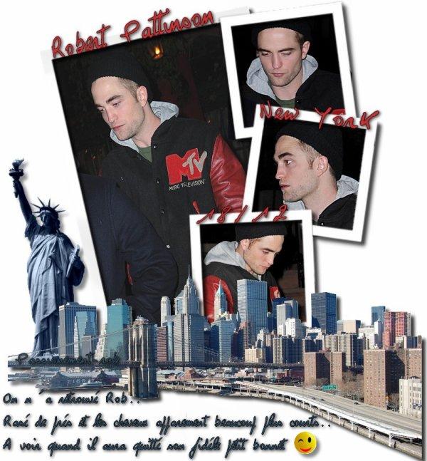 Rob in the Street of NY - 18/12 - 20/12 - News - Photos & Vidéos