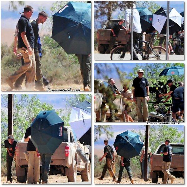 Premières photos de Rob sur le tournage de The Rover ^^ - Nouvelle Photo de Rob Pour BBook Magasine