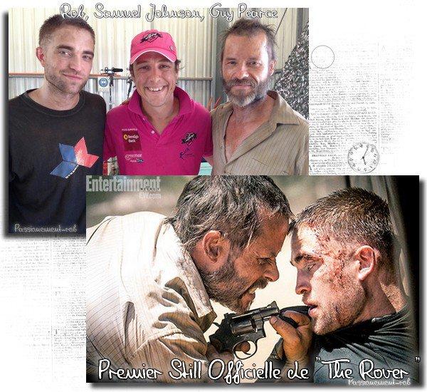 "Robert Pattinson - Photos surprenantes,  sur le tournage... pour son film "" The Rover "" - Pemier Still De The Rover"