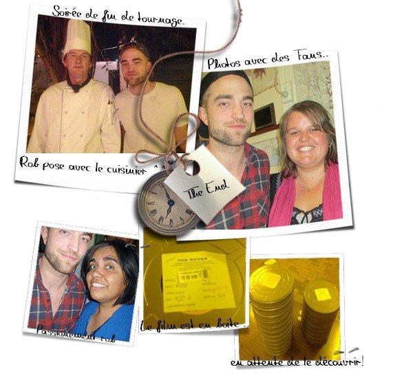 Dernières News sur The Rover et Photos Rob ..Robsten le 19 & 20,22 mars LA