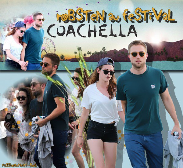 "Moments "" Robsten "" LA - 9/04 -10/04 - Festival de Coachella ce Week-end..."