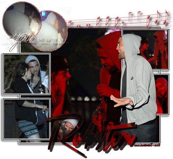 """Moments """" Robsten """" LA - 9/04 -10/04 - Festival de Coachella ce Week-end..."""