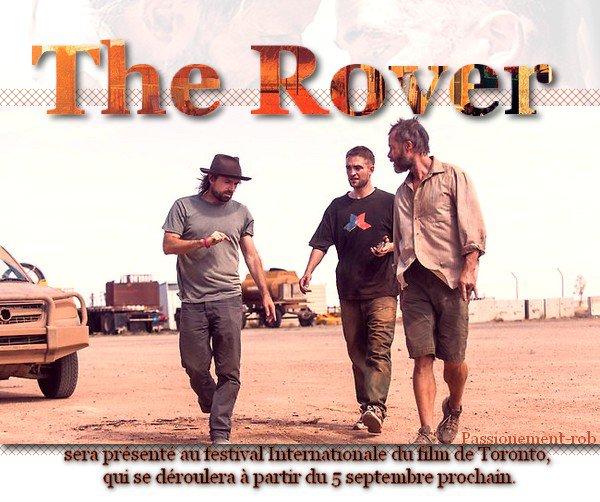 Rob pour Dior Nouvelles Images - The Rover présenté au TIFF!