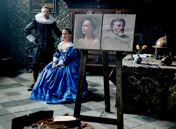 TULIP FEVER FIRST STILL.